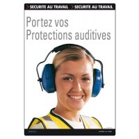 Affiche - Portez vos protections auditives
