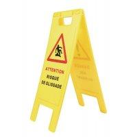 Chevalet de signalisation économique - Attention Risque de glissade