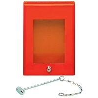 Boîte à clé de secours avec marteau homologuée H520