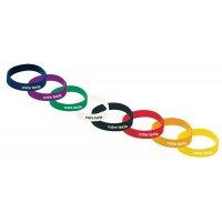 Bracelets d'identification en silicone personnalisables