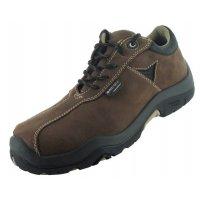 Chaussures de sécurité homme confort en cuir nubuck hydrofuge, classe S3