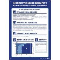 Consignes de sécurité particulières au personnel d'entretien électrique