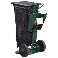 Chariot de voirie pour sac poubelle