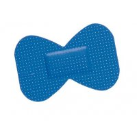 Pansements bleus détectables Butterfly