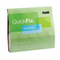 Recharge pour le distributeur de pansements QuickFix