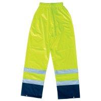 Veste et pantalon de pluie en PVC/PU avec bandes réfléchissantes