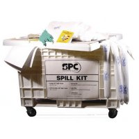 Kits anti-pollution pour hydrocarbures en chariot