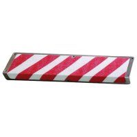Plaques de marche antidérapantes en aluminium coloré