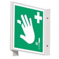 """Signalétique d'urgence """"Equipement de soins pour membres coupés"""""""