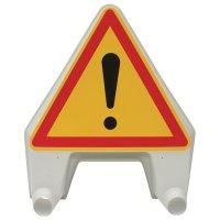 """Panneau de signalisation temporaire en polypropylène """"Danger"""""""