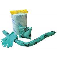 Kit absorbant pour produits chimiques en conteneur