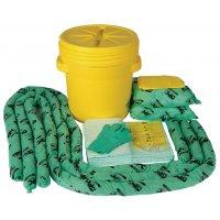 Kits absorbant pour produits chimiques en fût