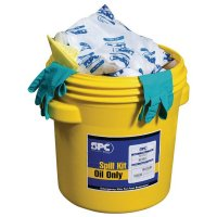 Kits absorbants pour hydrocarbures et huile en fût