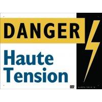 """Panneau Alumetal™ """"Danger électricité - Danger haute tension"""""""