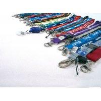 Cordons porte-badge entièrement personnalisables