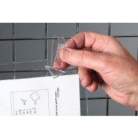 Pochette d'inspection à clips ou languette