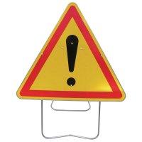 Panneau de signalisation temporaire AK14 - Danger général