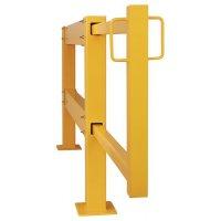 Porte coulissante pour barrière modulable
