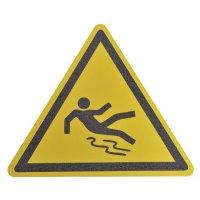 """Pictogramme antidérapant au sol """"Danger surface glissante"""""""