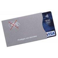 Etui de protection souple anti-RFID pour carte bancaire