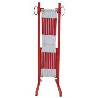 Barrière accordéon transportable pour entrepôt