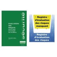 kit registre évaluation des risques avec porte-documents mural