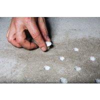 Clous podotactiles à frapper sans scellement chimique ni cheville IZICLOUS