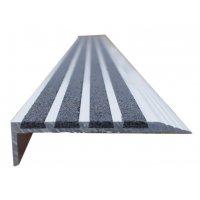 Nez de marche antidérapant - aluminium et quartz