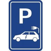 Panneau Borne de recharge voiture électrique
