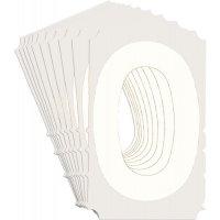 Chiffres et lettres prédécoupés en vinyle Quik-Align®