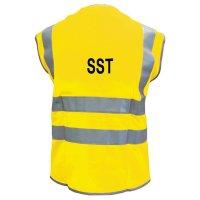 Gilets de sécurité SST haute visibilité