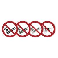 """Autocollant rigide animé SETON MOTION® """"Interdiction de fumer"""""""
