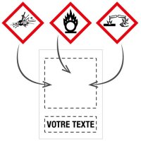 Etiquettes CLP personnalisables