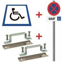 Kit stationnement handicapé thermocollé