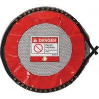 Housses de consignation verrouillables avec passage pour détecteur de gaz pour espaces confinés