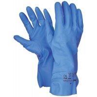 Gants de protection chimique bleus détectables Polyco® Pura™