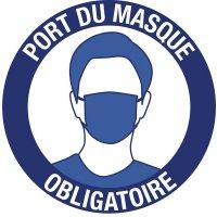Panneaux et autocollants - Port du masque obligatoire