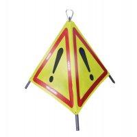 Tripode de signalisation danger à LED