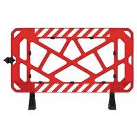 Barrière de chantier PVC 1,5m