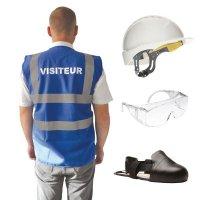 Kit EPI réutilisable pour visiteurs
