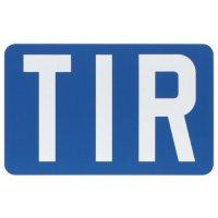 Plaque TIR