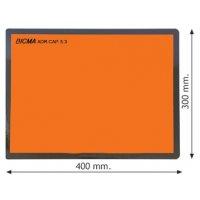 Plaques orange ADR rigides pliables