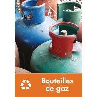 Signalétique recyclage - Bouteilles de gaz