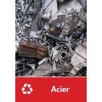 Signalétique recyclage - Acier