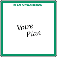 Plans d'évacuation en PVC