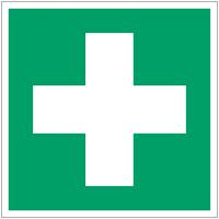 """Mini-pictogrammes d'évacuation """"Premiers secours"""" en rouleau"""