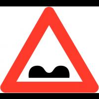 """Panneaux de circulation """"Cassis ou dos d'âne"""""""