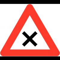 """Panneaux de circulation """"Priorité à droite"""""""