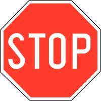 Panneaux de circulation - Stop