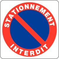 """Panneaux en PVC """"Stationnement gênant - Stationnement interdit"""""""